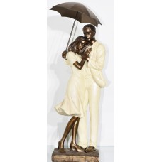 Love Romantic couple Statue Showpiece 1925