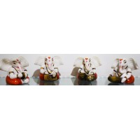 Paradise Ganesh Showpiece (Set of 4) 5822